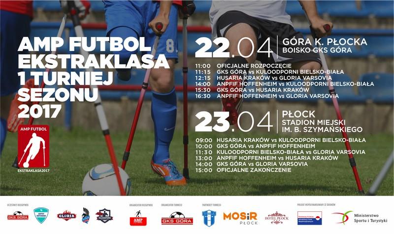 Amp Futbol Ekstraklasa 2017 - I turniej