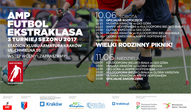III Turniej Amp Futbol Ekstraklasa 2017