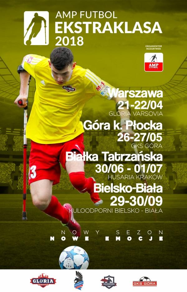 Amp Futbol Ekstraklasa 2018